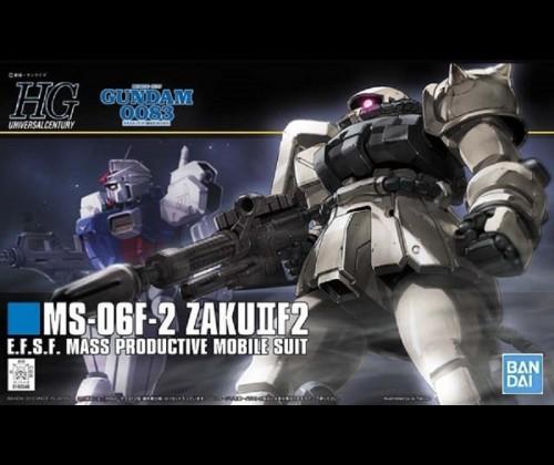 HGUC MS-06F-2 Zaku II Type F2