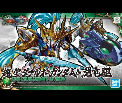 SD Tam Quốc Zhao Yun 00 Gundam & Bilongqu