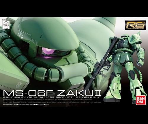 RG MS-06F Zaku II