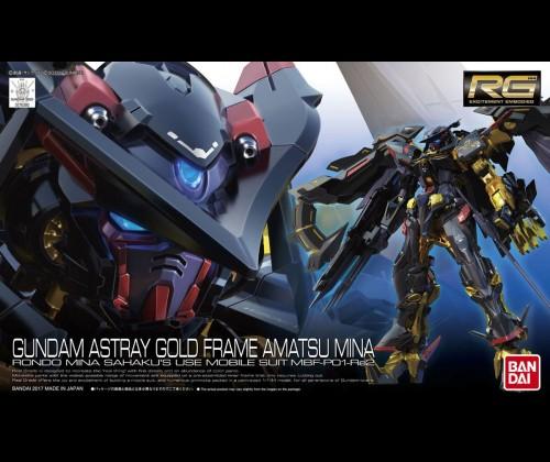 RG MBF-P01-Re2AMATU Gundam Astray Gold Frame Amatsu Mina
