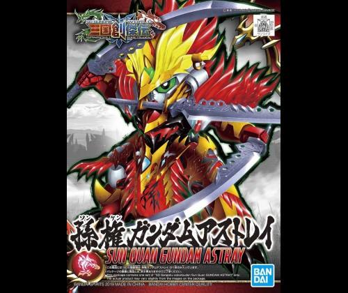 SD Tam Quốc Sun Quan Gundam Astray