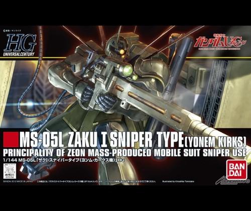 HGUC Zaku I Sniper Type