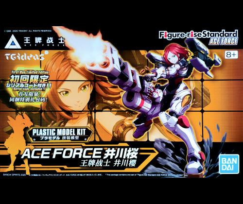 Figure-rise Standard Ace Force - Sakura Igawa