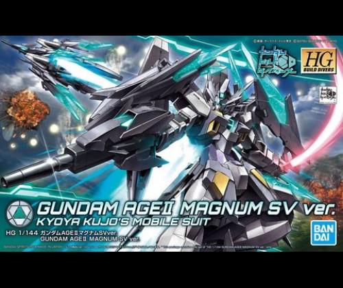 HGBD Gundam AGE II Magnum SV Ver.