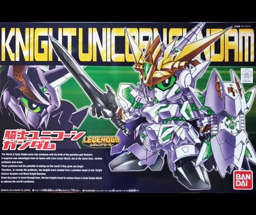 SDBB Legend  Knight Unicorn Gundam